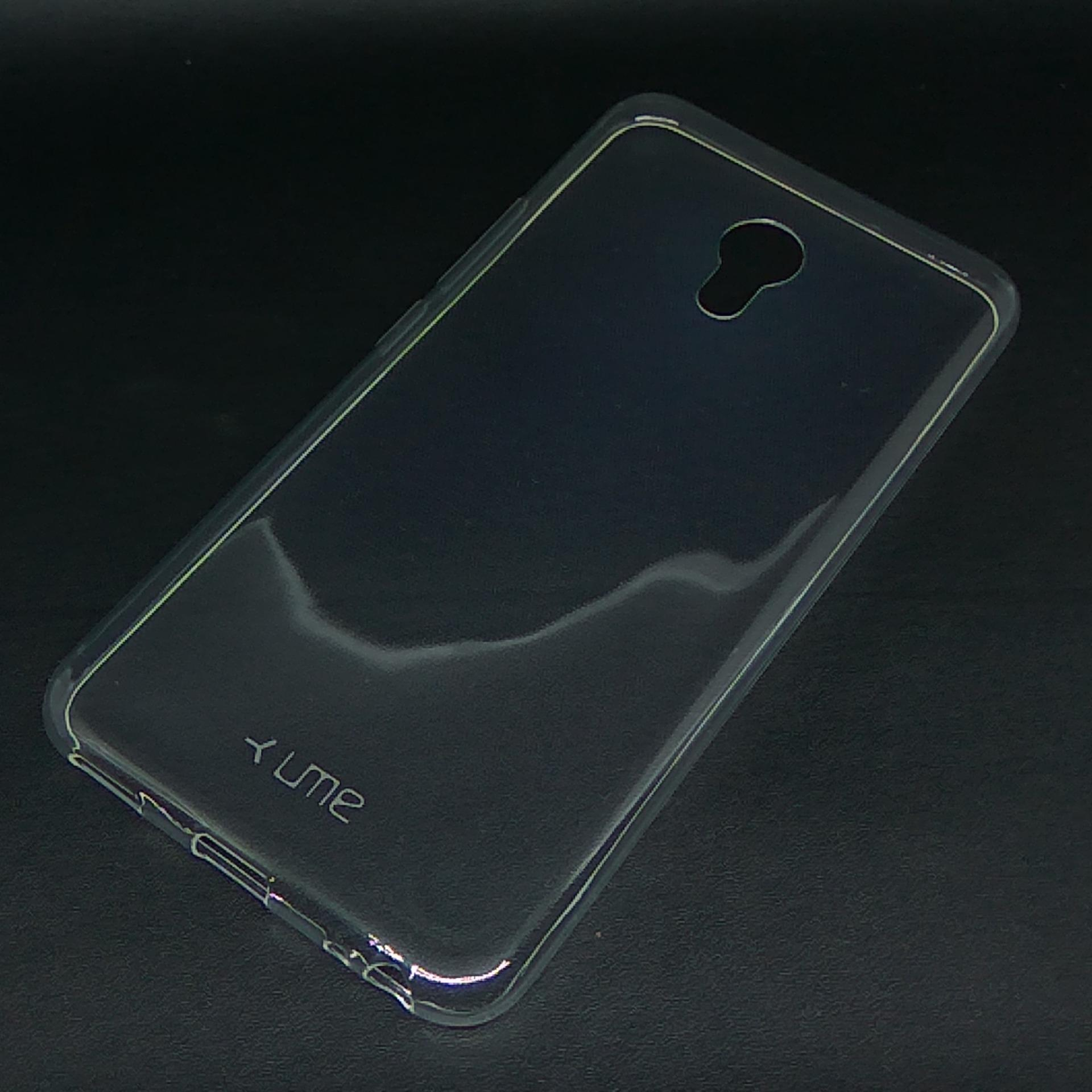 ... Ultrathin Softcase UME TPU untuk Meizu M5 Casing Ultra thin Soft case Silikon Silicone - Transparan ...