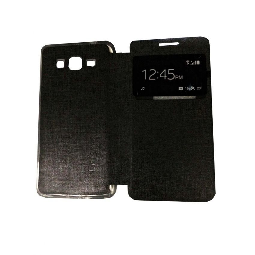 FlipCover Source · Shell Leather Case Sarung Hp View Ungu Ume Flip Leather .