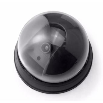 Unique Dummy CCTV LED Light - Replica Dome CCTV - CCTV Palsu - Fake Kamera CCTV Hitam