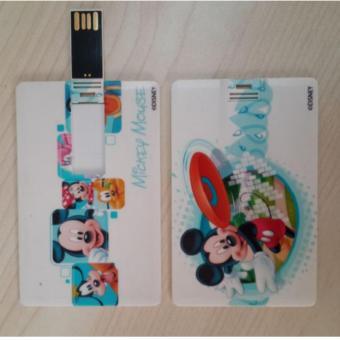 Unique USB Flashdisk Flashdrive 16GB Model Kartu ATM Motif Gambar Kartun Model 9 · >>>>