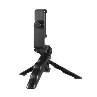 Universal Mini Telepon Tripod Berdiri Genggam Pegangan Stabilizer Dengan Adjustable Smartphone Clip Holder Braket Untuk Iphone 7 Plus/7/6/6 Plus/6s Untuk Samsung Galaxy S7 S6 Outdoorfree - Intl Andoer
