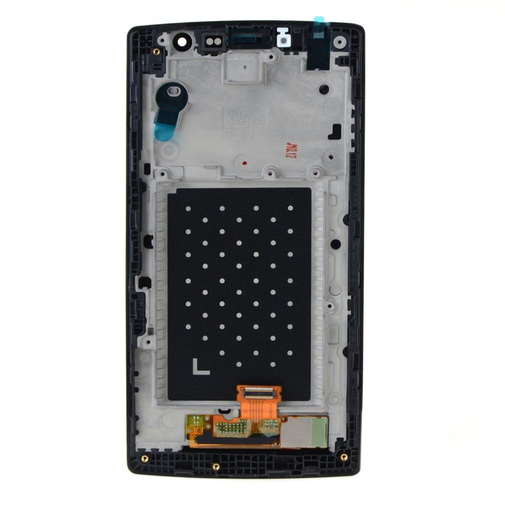 Untuk LG Magna H500 H502F H500F Y90 LCD Tampilan + Layar Sentuh Digitizer + Bingkai .