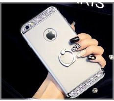untuk Xiaomi Mi Mix 2 Case 3 In 1 Bling Diamond Glitter Hard PC Back Cover dengan 360 Phone Ring Mean Xiaomi Mi Mix 2-Intl