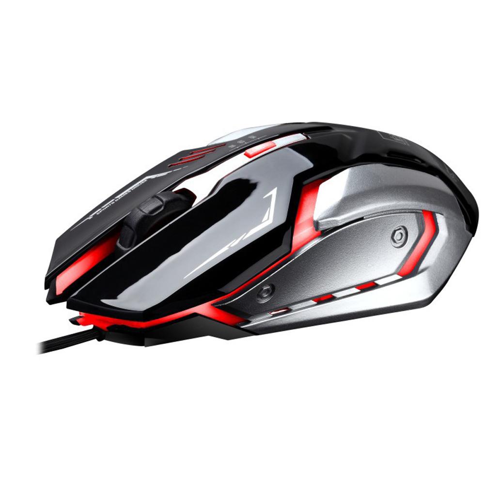 Pc Laptop Source · USB kabel optik Mouse Gaming 1600DPI disesuaikan dengan cahaya .
