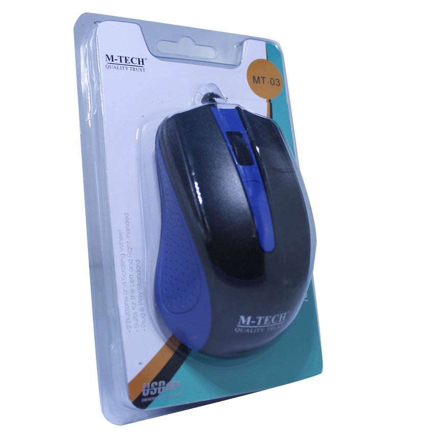 AUE Wireless Optical Mouse 2.4G - M103. Source · USB Mouse Cable MT03 -