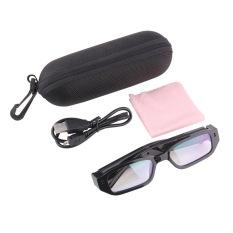 Ustore Mini HD kamera tersembunyi kacamata kacamata DVR di (hitam) - International