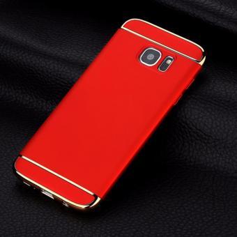 Viking Premium 3 IN 1 Hardcase Samsung S7 Edge - Red