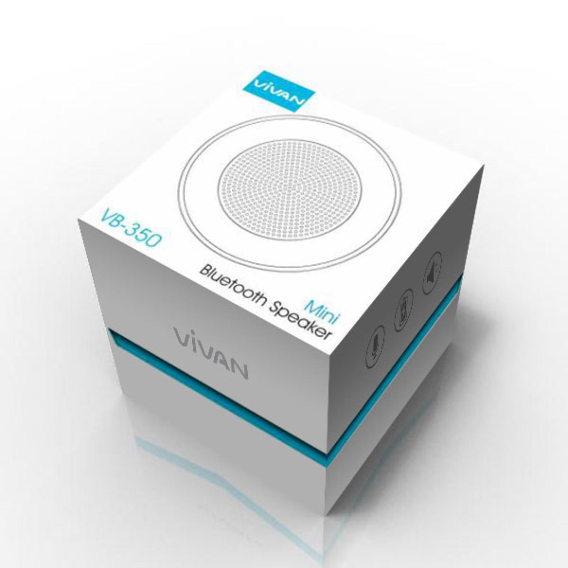 Vivan Speaker Portable Mini Bluetooth With Lamp Putih Update Robot Rb430 30 Square Hifi Black De032 Vb350 V30 Light
