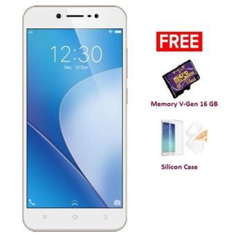0% VIVO V5 PLUS 464 GB RESMI Gold Free Memory V-Gen 16 GB