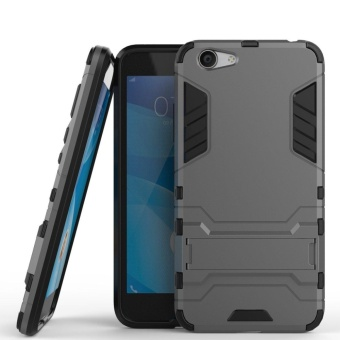 Vivo Y53 Case Slim Lightweight 2in1 Y53 Cases Hybrid with Soft Rugged TPU Inner Skin and