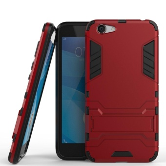 Vivo Y53 Case Slim Lightweight 2in1 Y53 Cases Hybrid with SoftRugged TPU Inner Skin and Hard PC Anti Scratches Protective Coverfor VIVO Y53 - intl