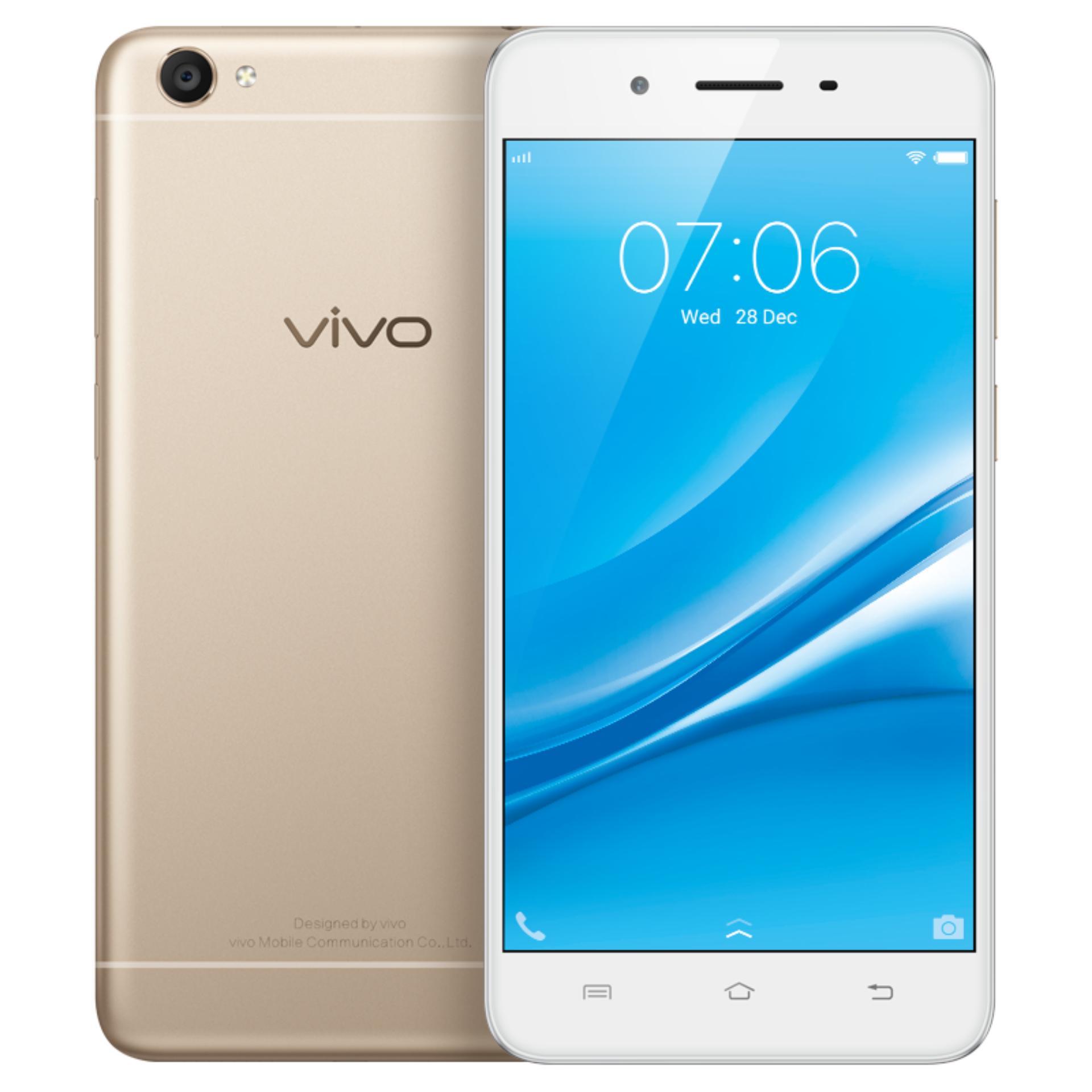 Vivo V5s Smartphone 4gb Ram64gb Rom Gold Garansi Resmi Y53 Ram 2gb 16gb Indonesia 1 Tahun Y55s