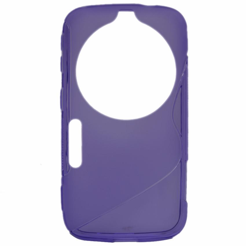 ... Vococal TPU kasus untuk Samsung Galaxy K Zoom (Ungu) ...