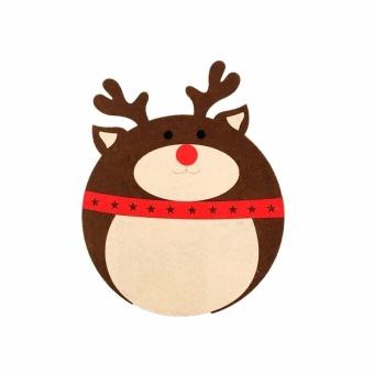 VORSTEK Christmas mouse pad - Elk Style - intl