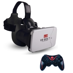 VR Box 3D T +T3 with Capacitive Touch + Gamepad