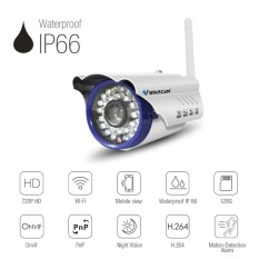 Rp 961.000 VStarcam C7815WIP WiFi IP Camera Outdoor 1.0MP Megapixel HD CCTV Wireless Bullet Surveillance Security Sysytem ...