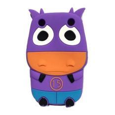 Wakaka Soft Case Cow Series for BlackBerry Curve 9320 - Ungu