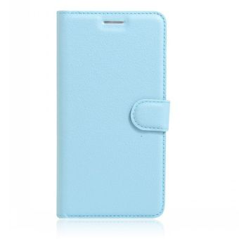 Wallet Flip Leather Case Cover For Oppo A37 / Oppo Neo9 (Blue) -intl
