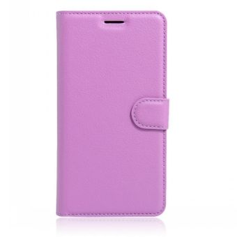 Wallet Flip Leather Case Cover For Oppo A37 / Oppo Neo9 (Purple -intl - 3
