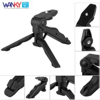 Wanky 2 In 1 Portable Mini Handle Grip Folding Tripod Monopod For DSLR .