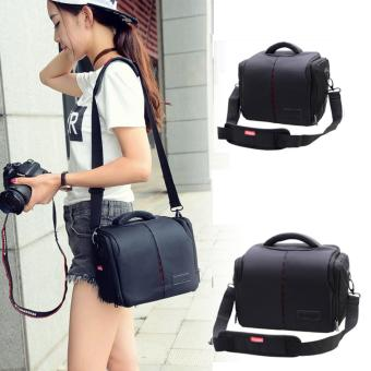 harga Waterproof Anti-shock DSLR SLR Camera Case Bag with Extra RainCover for Nikon D3300,D3200,D3400, D5500,D5300,D5200,D7200,D7100,D810,D750,D610, Canon EOS 1300D,1200D,750D,700D 650D,70D 80D 7D 6D 5D 100D. - intl Lazada.co.id