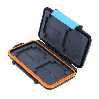 Harga Waterproof Anti-shock Memory Card Storage Case Holder Box for SD CF TF Card - intl