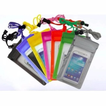 Waterproof Case Universal 5.5 inch Pouch Handphone Anti Air Water Resistant Pocket - 3