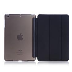 Welink Ultra Slim Smart Cover PU Leather Case for Apple iPad Mini 4 (Black)