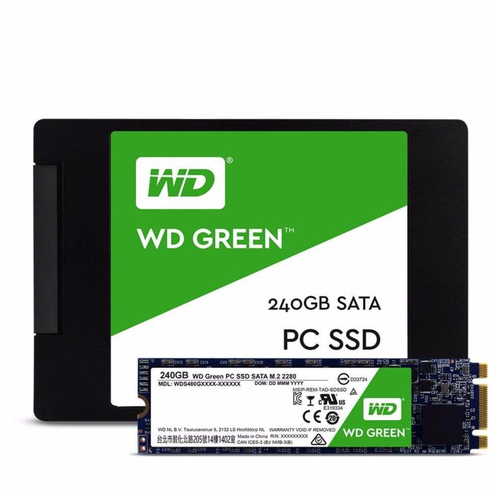 Belanja Terbaik Western Digital Wd Green Ssd 240gb 25 Sata Paket V Gen 3 120gb Kalender Flash Sale 2pcs