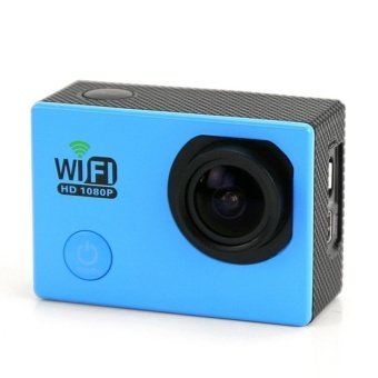 Winliner ACC-B-05 Sports Action Camera DV 170 degree Wide Angle Lens 1080P HD (Blue) - intl