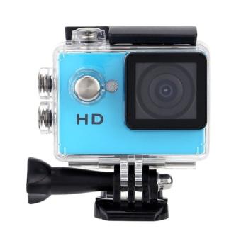 Winliner ACC-B-11 Waterproof Sport Action Camera (Blue) - intl