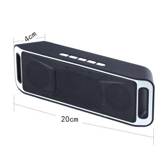 Wireless Bluetooth Speaker USB Flash FM Radio Stereo MP3 Player Support TF Card .