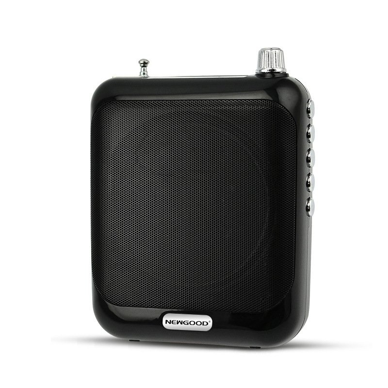 ... Wireless Voice Amplifier Megaphone Booster Mini Portable Speaker with USB TF Card FM radio for Teacher ...