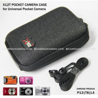 X12T Pocket Case - Best for Pocket Camera for Canon Nikon Sony Panasonic Fuji etc