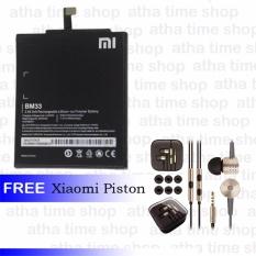 Xiaomi BM33 Original Baterai for Xiaomi Mi4i [3030 mAh]+Xiaomi Piston