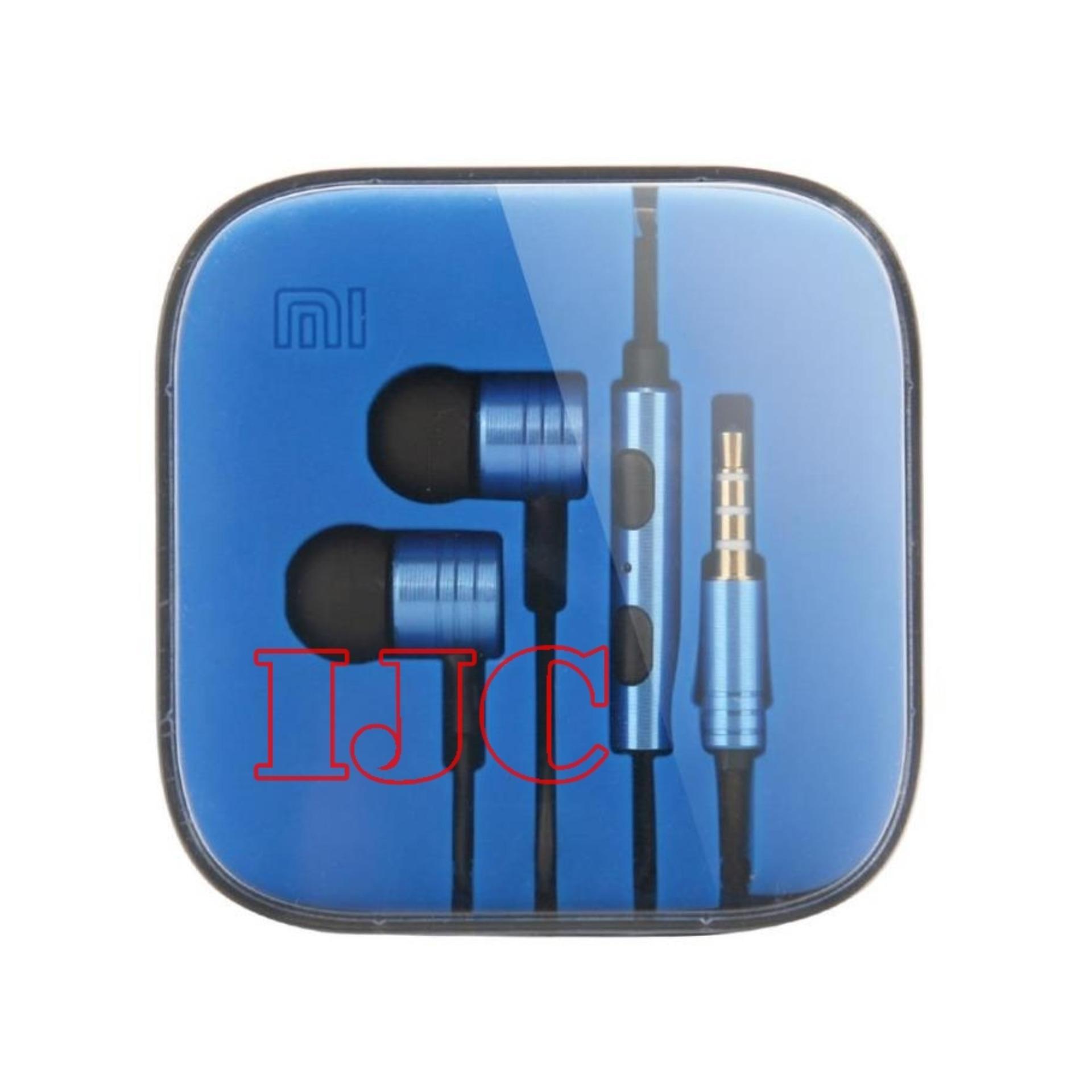 ... Xiaomi Earphone Big Bass Piston Mi 2nd Generation Handsfree/Headset BLUE ...