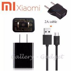 Xiaomi Fast Charger MDY-03-EC Kabel Micro USB + Steker Original Travel Charger