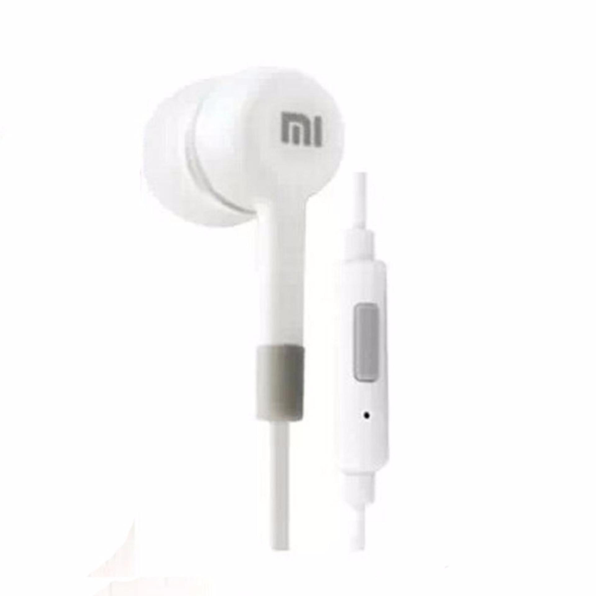 Xiaomi Headset Hi-fi 3.5mm In-ear Headphone Stereo Earbuds - HITAM