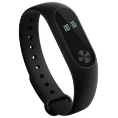 Xiaomi Mi Band 2 Waterproof Smart Bracelet Heart Rate Monitor Wristband Black