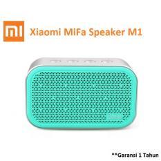 Xiaomi MiFa M1 Bluetooth Portable Speaker Cube with Micro SD - Biru