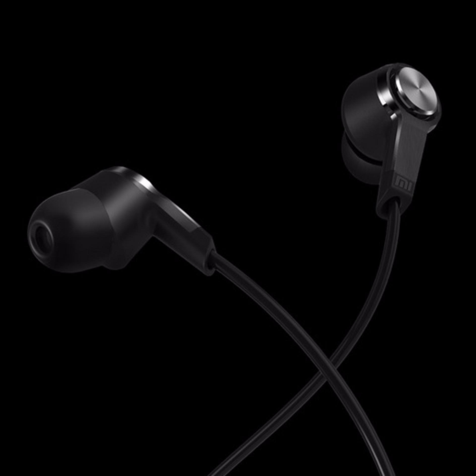 Xiaomi Original Handsfree Mi 3rd Gen In-Ear Headphone - Hitam .