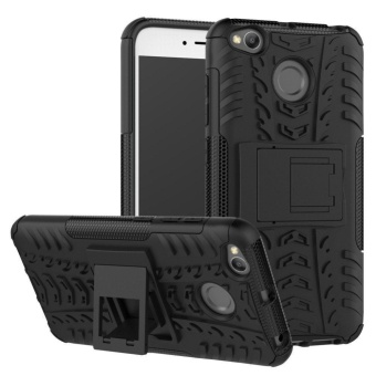 Xiaomi Redmi 4X Heavy Duty Hybrid Rugged Armor Hard Back Cover Case with Kickstand for Xiaomi Redmi 4X / Hongmi 4X - intl