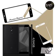 Xiaomi Redmi Note 4 4/64GB black Garansi Resmi TAM, free premium tempered glass, ring holder