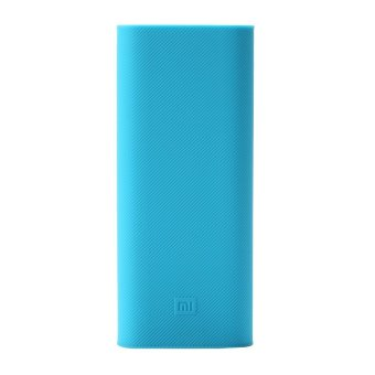 Update Harga Xiaomi Silicon Case for Mi Power Bank 16000 mAh – Biru IDR12,500.00  di Lazada ID