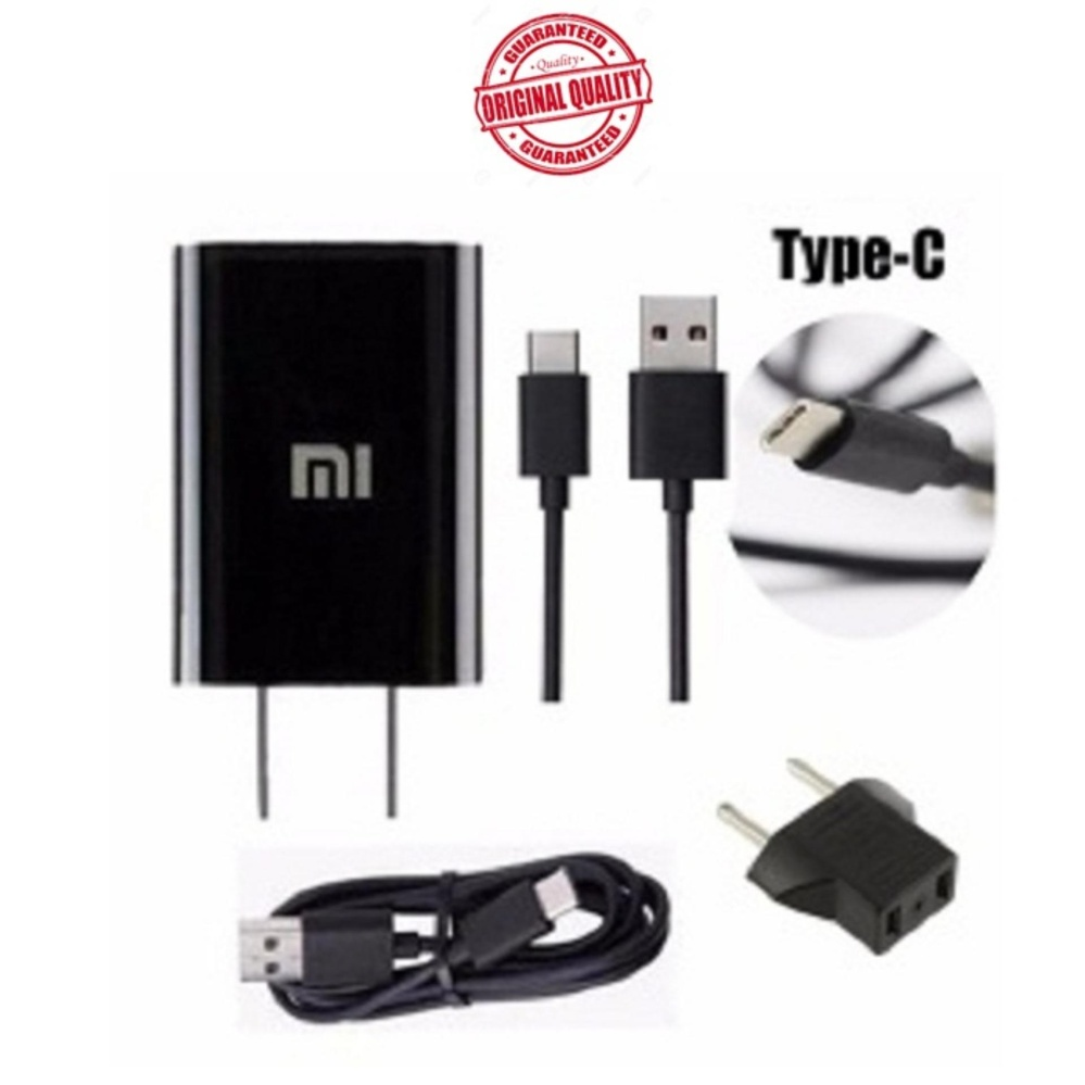 Online Murah Xiaomi Travel Adapter Charger For Type C 2a Original Mi4c Nonpack