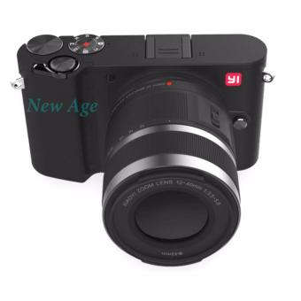 Xiaomi Yi M1 Kamera Digital Mirrorless 12-40mm F3.5-5.6 Lens - Storm Black