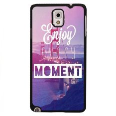 Y&M Enjoy Every Moment Pattern Phone Cover for Samsung Galaxy Note 3 (Multicolor)