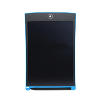 YBC 8,5 Inch Portable LCD menulis papan dengan pena menulis menggambar Pad untuk Rumah Office