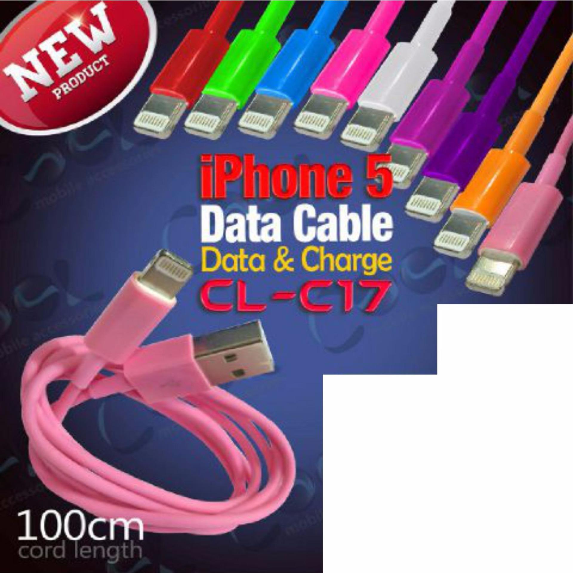 yumoto KABEL DATA LIGHTNING USB CHARGER IPAD IPOD IPHONE 5 5S 6 6Scl-c17