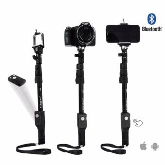 Yunteng YT-1288 Color Edition Monopod Tongsis 1288 with BluetoothFunction + U Holder - 2